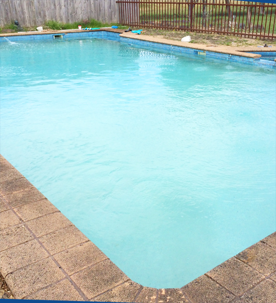 pool reveal after